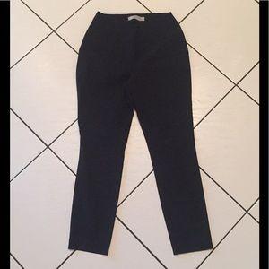 ASOS ANKLE PANTS BLACK FRONT ZIPPER FLY SIZE 4
